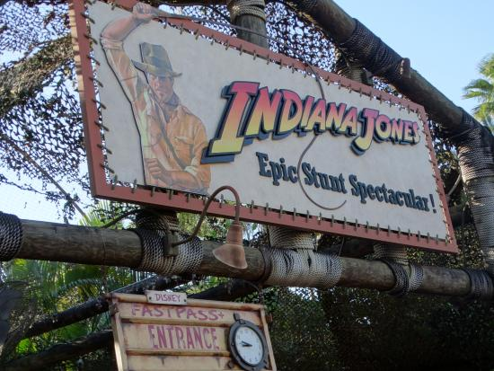Cartel Indiana Jones - Picture of Indiana Jones Epic Stunt