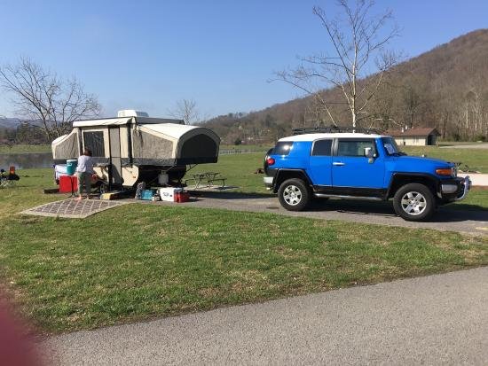 Indian Mountain State Park: Nice, clean & quite campground.