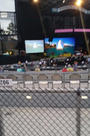 View From Our Seats Before The Show