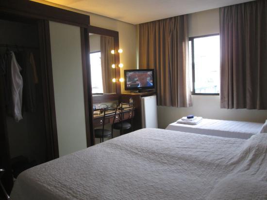 San Rafael Hotel: quarto