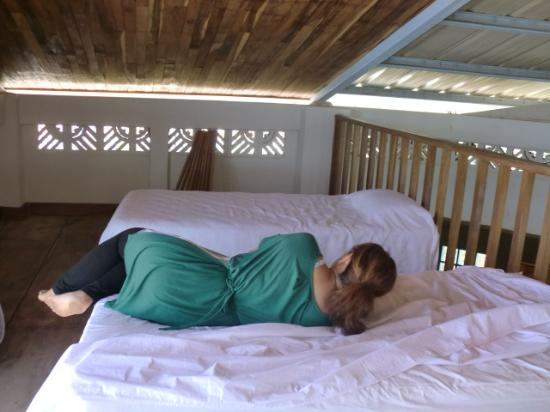 Carazo Department, Nicaragua: Parte de loft, 2 camas unipersonales
