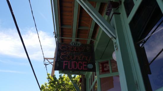Copper Country Fudge