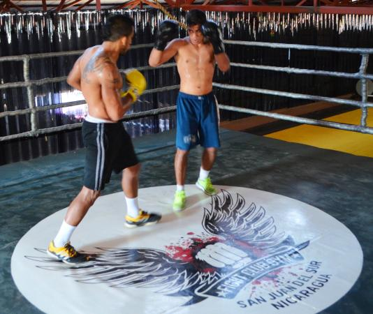 MMA Training Fight Club Gym San Juan del Sur - Picture of