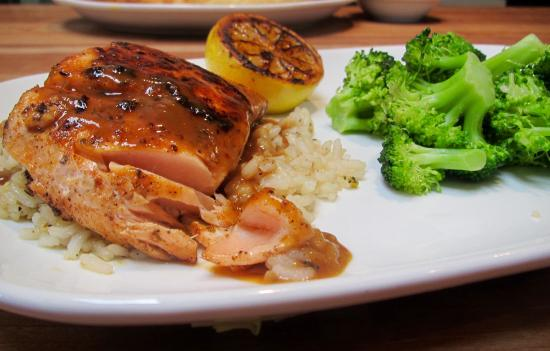 Cheddar S Grilled Salmon
