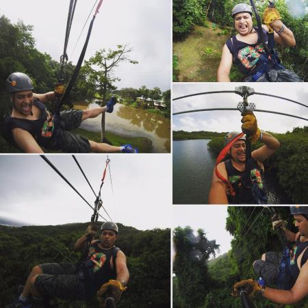 Clip N  Zip Canopy Tours: Take a go pro, trust me its fun you want to record