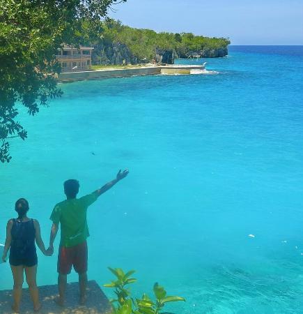 Salagdoong Beach Resort: Cliff Jumping Spot