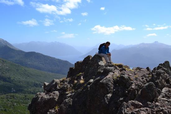 Cerros Negro & Monje Trail: Vista hacia el noroeste