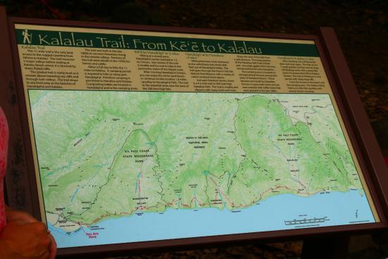 Kalalau Trail Map on torreya state park trail map, superior hiking trail map, kauai map, sunrise trail map, mahaulepu trail map, forest park trail map, hanalei trail map, hanakapiai map, waimea trail map, na pali trail map, maui hiking map, hawaii map, appalachian trail georgia elevation map, waipio valley trail map, manoa falls trail map, napali coast hiking trail map, bonelli park trail map, kokee state park trail map, kaibab trail map, sleeping giant trail map,
