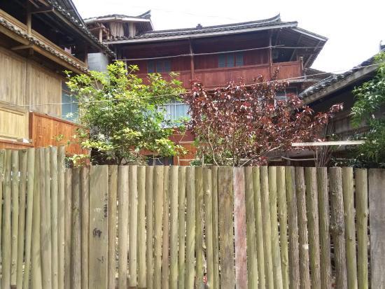 Tongdao County, China: fence