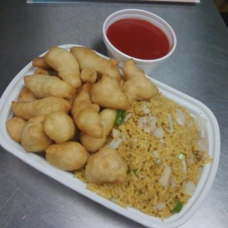 Sweet n sour chicken picture of china one fort atkinson china one sweet n sour chicken forumfinder Choice Image