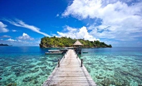 tropical raja ampat pengen ke pulau papua barat tempat wisata paling indah