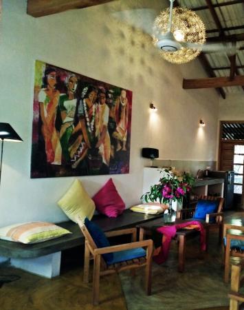 Stardust Beach Hotel: Living room area in the Villa