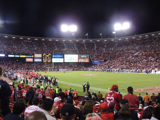 Candlestick Park: good atmosphere