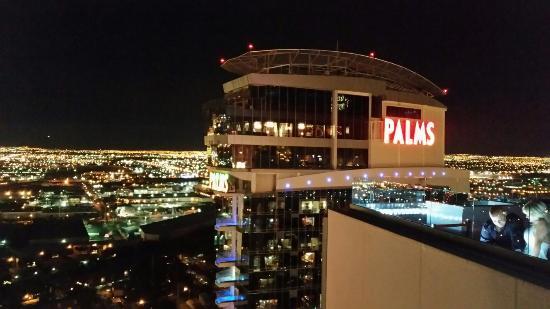 Ghostbar Best View In Vegas