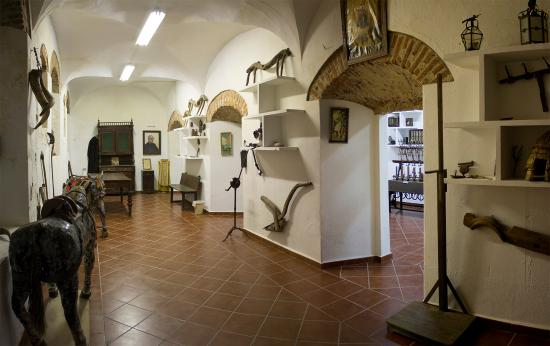 Museo Etnográfico de Puebla de Alcocer: Sala con objetos personales