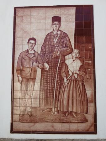 Puebla de Alcocer, España: Detalle del mural