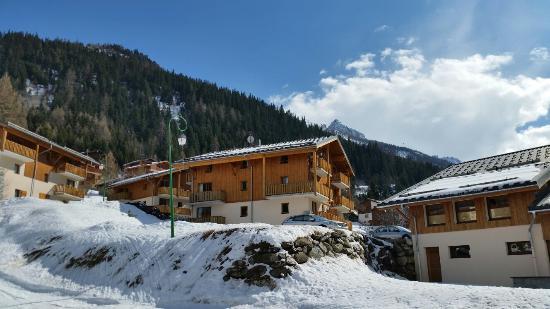Валльфрежю, Франция: Ski from the appartement
