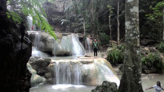 West Timor, Indonesien: Air Terjun Oehala