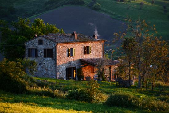 Allerona, Italie : Sagraincasa a farmhouse in the middle of the Umbrian hills