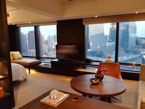 View From Dek Photo De Rosewood Beijing Pekin Tripadvisor