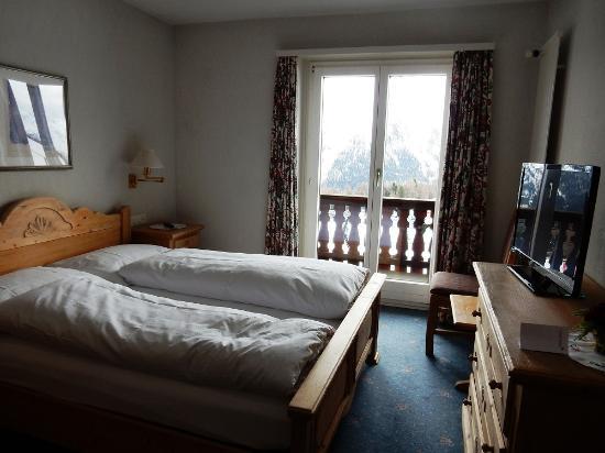 Hotel Salastrains: Zimmer mit Balkon 4.Stock