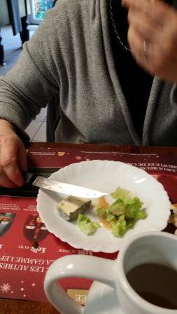 Goudelin, France : Salade et Bleu