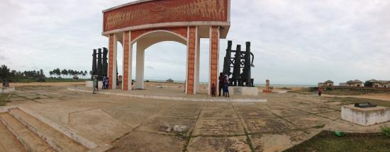 Ouidah, Benim: Porte de non retour