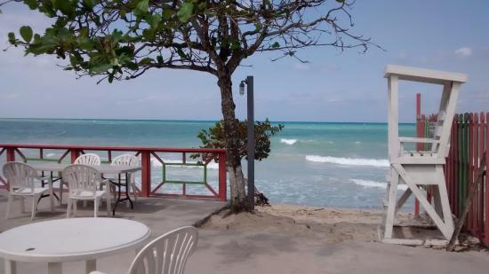 Shields Negril Villas: breakfast view