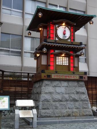 Dogo Onsengai: Tower clock
