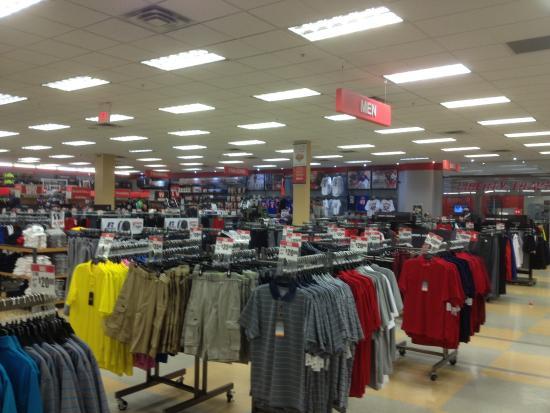 Livingston Mall - inside sporting goods store