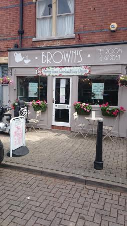 Browns Tea Room Allandale Road Leicester