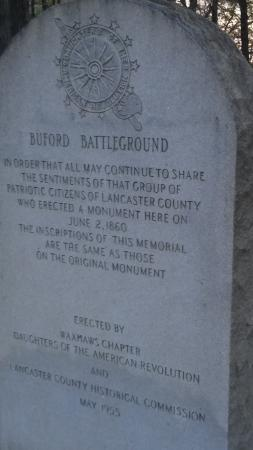 Buford Battleground : Another monument.