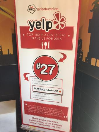 27 Best Restaurant In The Country By Yelp Picture Of Mr