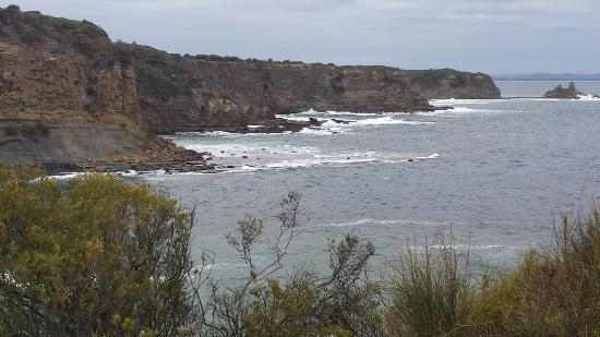 Inverloch, Australia: View from viewing platform