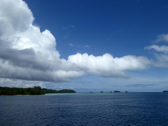Марово, Соломоновы острова: View across Marovo Lagoon