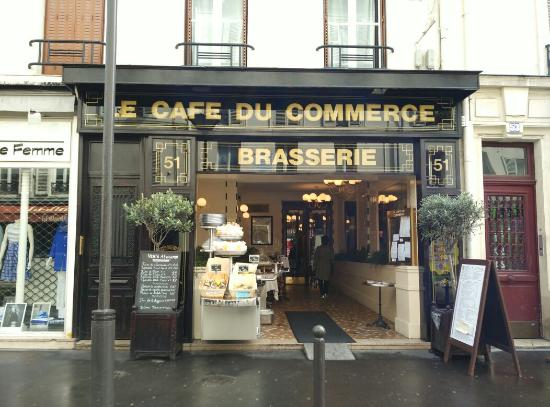 Le Cafe Du Commerce  Rue Du Commerce