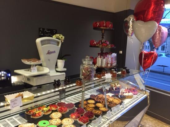Boulangerie O 35: l'entrée de la boutique