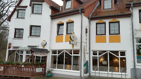 original ungarischer kessselgulasch scharf bild von ungarisches restaurant puszta sagard On ungarisches restaurant