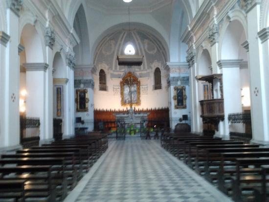 Bosco Marengo, Italien: Interno della chiesa di Santa Croce