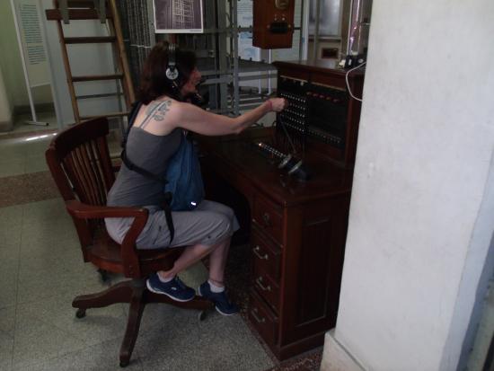 """Museo de las Telecomunicaciones de la Habana """"ETECSA"""""""
