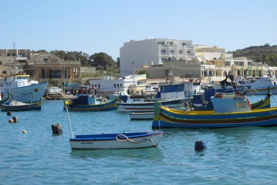 Marsaxlokk, Μάλτα: Fishing boats