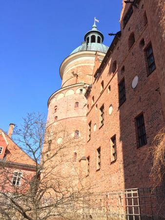 Södermanlands län, Sverige: Detail of the castle.
