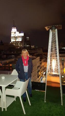 Terraza Picture Of Room Mate Oscar Madrid Tripadvisor