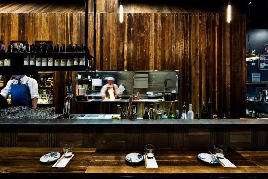 Pabu Grill & Sake: open kitchen!