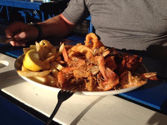 Trawlers: Fish Combo Dinner