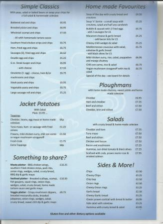 The Coffee House: menu 2016 page 2