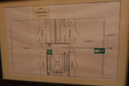 Firean Hotel : Floor Plan, 3F, annex building