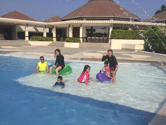 at the kids pool Picture of Aquaria Water Park Calatagan