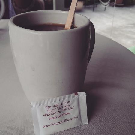 Kona Coffeehouse & Cafe at Honaunau: Yummy coffee!