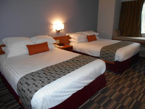 Microtel Inn by Wyndham Albany Airport: Double Queen Bedroom